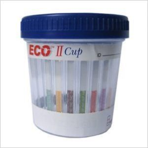 12 Panel Drug Test Cup | ECO II Urine Drug Test Cup w: K2 Spice straight detox 2